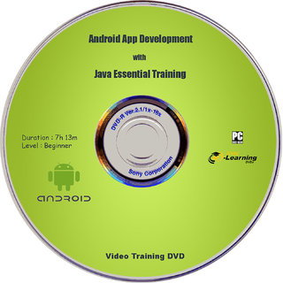 Android App Development with Java Video Training DVD