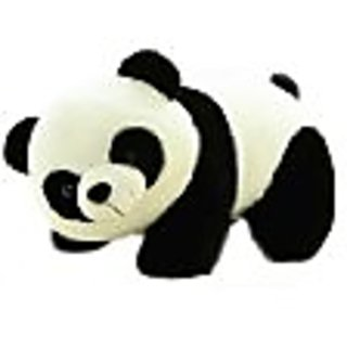 Tickles Black,White Panda Stuffed Soft Plush Toy Love Girl.