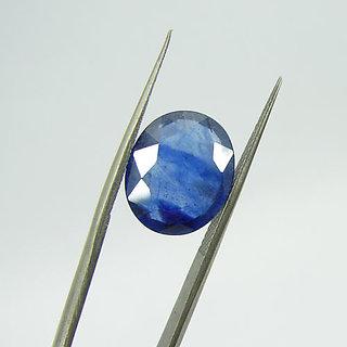 MANGLAM RAJ RATAN Birthstone 5.25 Ratti Royal  Blue Sapphire Neelam Gem