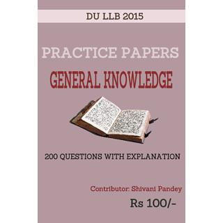 DU LLb 2015 General Knowledge Practice Paper