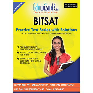 Eduwizards BITSAT Practices Test Series With Solutions CD Based Test Series