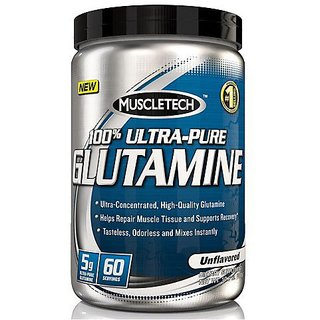 Muscletech 100 ultra pure glutamine-300gm
