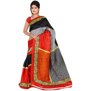 Lovely Look Multi Printed Saree LLKGPS5201