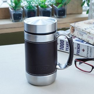 Stainless Steel Freelance Mug Black