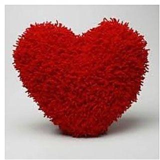 Heart Shaped Pillow Cum Soft Toy