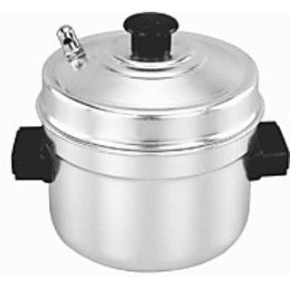Idli Cooker 4 Plate Aluminium (Small Size )