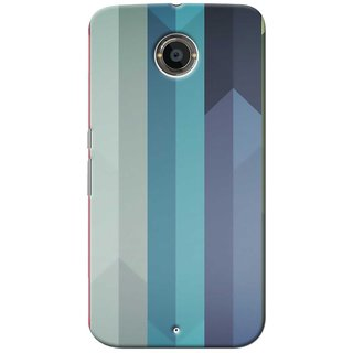 SaleDart Designer Mobile Back Cover for Google Motorola Nexus 6 GNX6KAA658