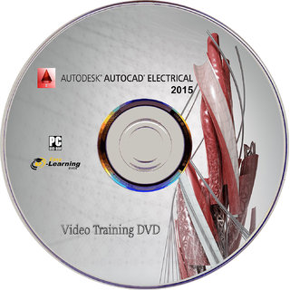 Learn AutoCAD Electrical 2015 Video Tutorial Training DVD