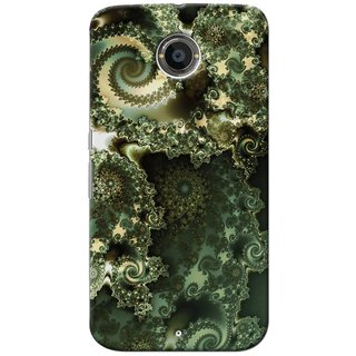 SaleDart Designer Mobile Back Cover for Google Motorola Nexus 6 GNX6KAA765