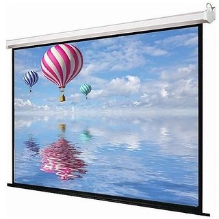 10x8 INLIGHT BRAND AUTOLOCK PROJECTOR SCREEN(IMPORTED GLASS BEADED FABRIC)A+++++