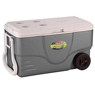 Coleman 50 Qt Wheeled Xtreme Gray Cooler