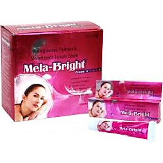 Mela-Bright skin cream set of 4 pcs.