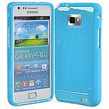 Soft Silicone Gel Skin Case Fr Samsung I9100 Galaxy S II Skyblue