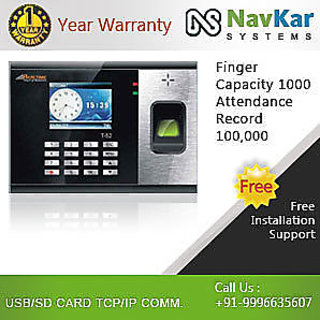 RealTime T52 Biometric Time  Attendance System based on Fingerprint