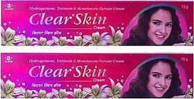 Clear skin cream set of 2 pcs.