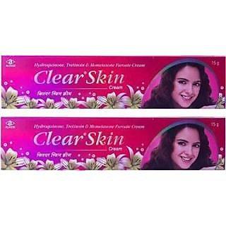 Clear skin cream set of 4 pcs.