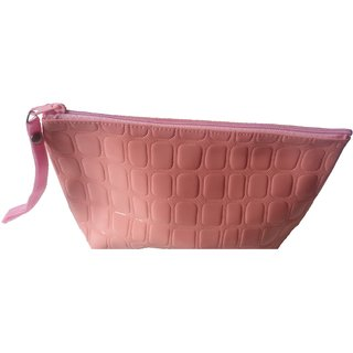 Viva Fashions Women Casual Peach Clutch Bag