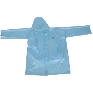 Clubb PVC Unisex Raincoat With School Bag Provision