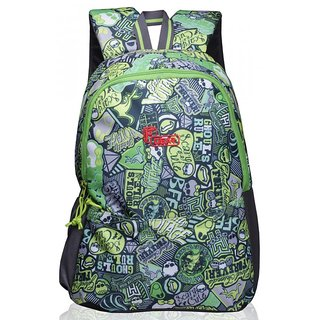 F Gear Saviour P2 Green Printed 19 Ltrs backpack