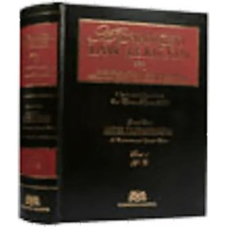 Advanced Law Lexicon 4 Volumes