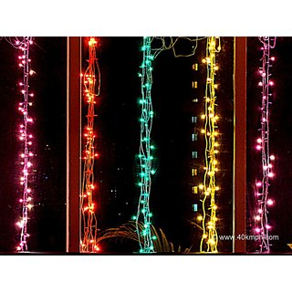 Set of 2 Rice lights serial bulbs lighting for diwali / christmas / parties