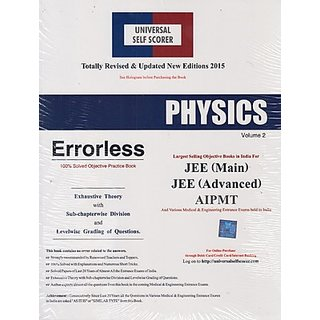 Physics IIT-JEE, AIEEE,AIPMT (Set Of 2 Volumes) For 2015 (Paperback