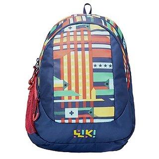 Wiki Spin Backpack Blue Bag