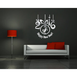 Decor Kafe New Year Wall Sticker 16x20(inch)