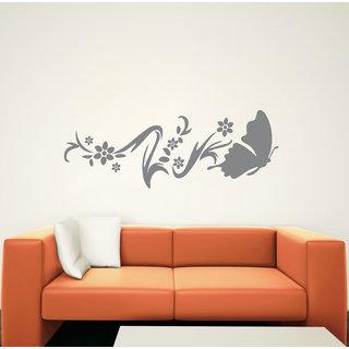 Decor Kafe Butterfly Wall Sticker    32x11(inch)
