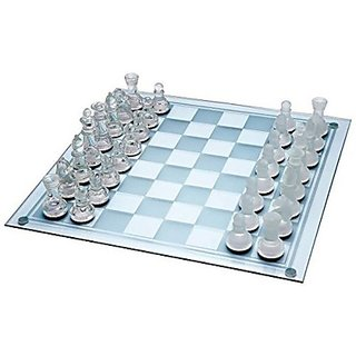Imported Glass Chess Board Game