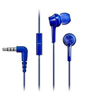 Panasonic RP-TCM105E-A In-Ear Headphone Headset With Mic