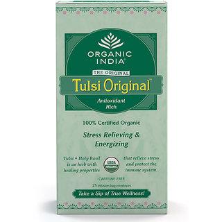 Organic India Tulsi Original 25 Tea Bags