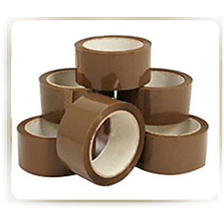 Brown Tape Pack Of 6