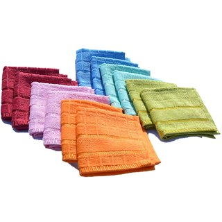 iLiv Set of 10 Face towels