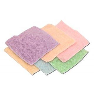 Set of 6 Cotton Face Towels