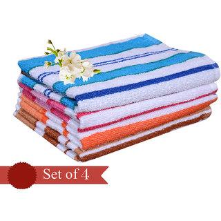 Special  flower design hand towel (set of 4)