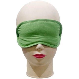 Cotton grass green Eyemask