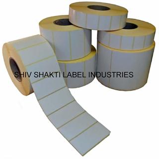 BARCODE STICKER 100mm x 150mm Chromo Paper