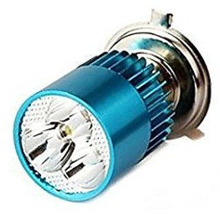 Autoaxes Bike H4 3Bright Light Bulb White- Royaal Enfield Bullet Electra
