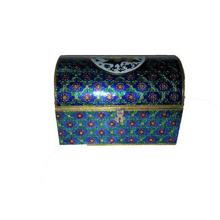 Beautiful Blue Jewellery Box