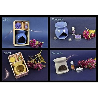 GIFT PACK (HOME FRAGRANCES - AROMA OILS  BURNER)