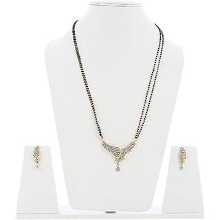 American Diamond Designer Mangalsutra