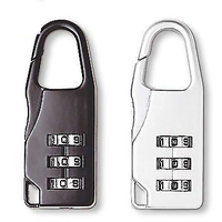 3 Digit Number lock Padlocks (Set of 2)