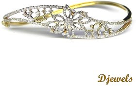 Djewels Diamond Gold Bracelet