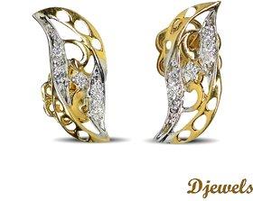 Djewels Charm Diamond Earring