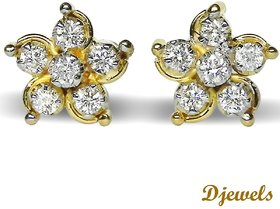 Djewels Contemporary Diamond Earring