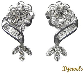 Djewels Wedding Diamond Earring