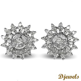 Djewels Stylish Charm Diamond Earring