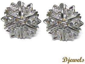 Djewels Gold Diamond Earring