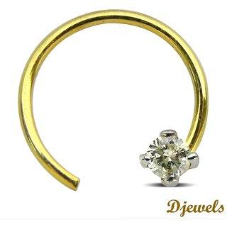 Djewels Dazzling Diamond Nose Pin